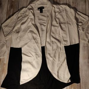 White House Black market draped cardigan